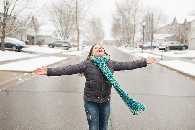 heather arnita photography - columbus ohio family portraits snow picture 1