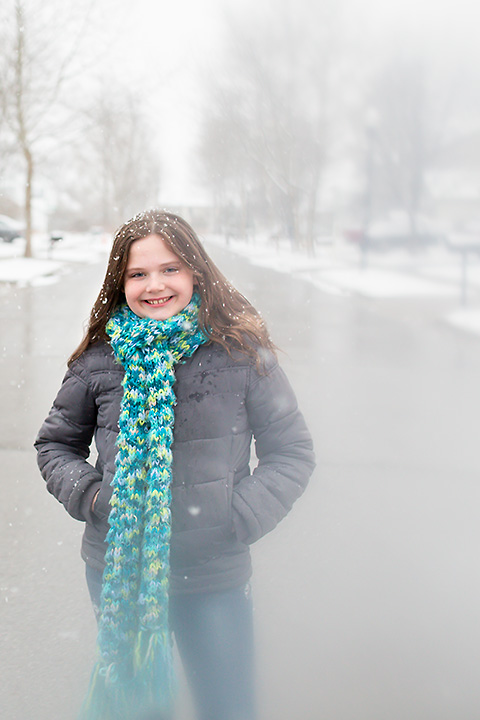 heather arnita photography columbus ohio family portraits snow 2