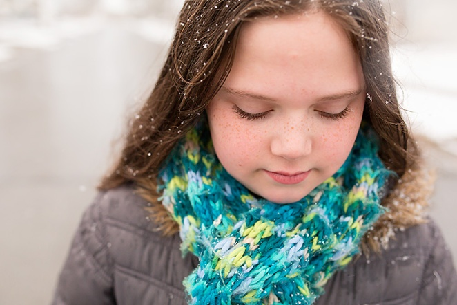 heather arnita phtography - columbus family portraits snow 6