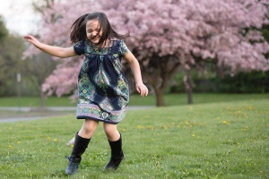 dancing in the spring columbus ohio family ohotographer