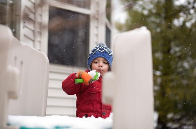 366 day 55 eddie eating snow facebook